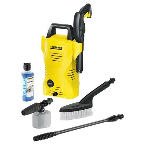 Karcher K2B + sprayer nozzle, car shampoo & wash brush - £45 @ Tesco (Free C&C)