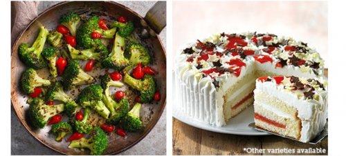 Free frozen dessert or frozen veggies from Iceland for bonus card members
