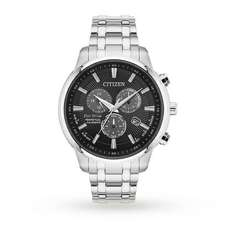 Citizen Mens Eco Drive Chronograph Watch £171 (With Code) WAS £379 Goldsmiths Free Delivery