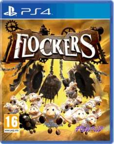 Flockers new ps4 CD £9.99 @ Game
