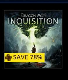 Dragon Age Inquisition Deluxe Edition (PS3/PS4) £5.49 with PSN Plus @ PlayStation Store