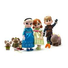 Anna, Elsa & Kristoff Deluxe Animator's Collection Gift Set £59.99 from the disney store