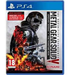 Metal Gear Solid V The Definitive Experience Ps4 £20.99 Argos eBay