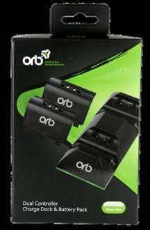 Xbox One Dual Charge and Play Battery Pack (Black)  £4.85 Shopto