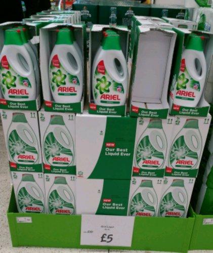 Ariel 2Lt Bio Original Liquid Detergent £5 at Asda Newport