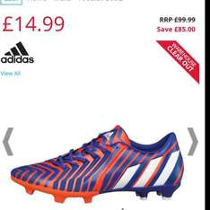 Adidas Warehouse Clearance up to 75% off @ M&M Direct (£4.49 del)