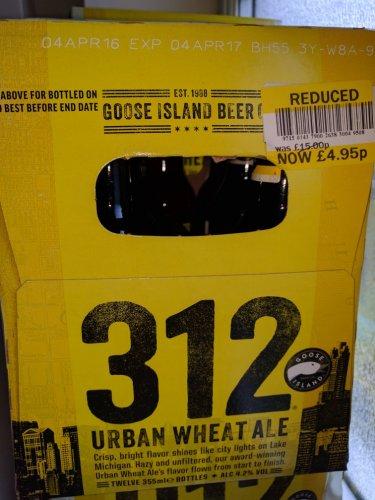 Urban White Ale - £4.95 @ Tesco
