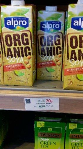 Alpro (Organic Soya Wholebean) - 70p @ Waitrose