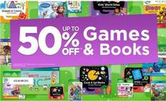 LeapFrog Store up to 50% off books & games