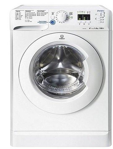 Indesit XWA81252XW Innex Freestanding 8KG Washing Machine - White - £180 @ Tesco Direct