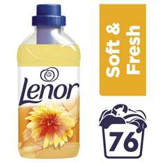 Lenor Fabric Conditioner Concentrate Summer Breeze / Spring Awakening - 76 Washes (1.9L) was £5.00 now £2.50 @ Ocado