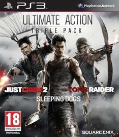 Ultimate Action/Stealth Triple Packs (PS3) £5 Each Instore @ Asda