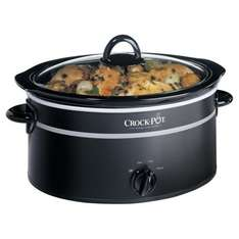 Tesco Crock-Pot Slow Cooker, 3.5L - Black £18 free C&C + Clubcard points