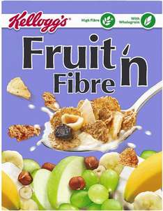 Kellogg's Fruit 'n Fibre Cereal (750g) was £2.50 now £2.00 @ Iceland