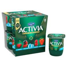 Danone Activia Red Fruits or Mixed Fruit Yoghurts 0% Fat 8X125g, reduced from £2.90 to £1.45 at Tesco and Ocado