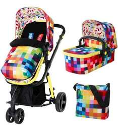 Cosatto Giggle 2 Travel System - Pixelate (Stroller, Pram, Carseat) £402.95 (£346 after Quidco) @ Direct 2 Mum