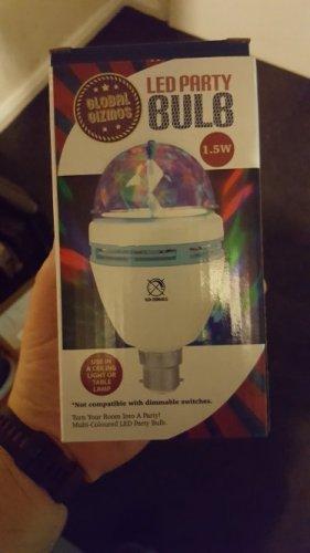 led disco light similar to jml - £2.99 @ the range