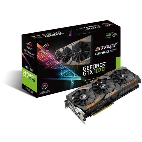 ASUS ROG Strix GeForce GTX 1070 8 GB £358.75 @ Amazon