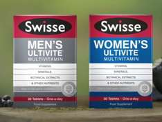 Swiss Ultivite Multivitamin (3 packs) - was £9.99 each, now £12.48 / £9.98 (with coupon) @ Boots