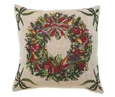 Christmas tapestry cushion £1.99 @ Halfcost - (free delivery for £10 spend otherwise £3.99 delivery)
