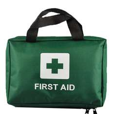 Amazon Deal of the day-Ezy-Aid 99pcs Supreme First Aid Kit Bag - Inc. Eye Wash, Crepe, Ice Pack, Thermal Blanket - Home, Office, Vehicle, Workplace, Travel, Camping-£10.99 (Prime) £15.74 (Non Prime)/Free click and collect