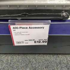 400 Part Rotary Tool Accessory Kit instore deal £12.99 @ Maplin (Bolton)