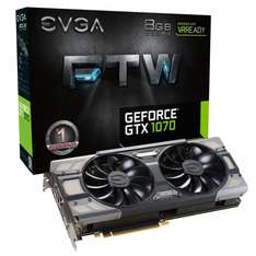Evga GTX 1070 FTW 8GB GDDR5 £378.25 Deal @ Amazon