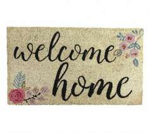 HOME Welcome Home Doormat & 2 Others @ £2.99 WAS £7.99 @ Argos (Free C&C)