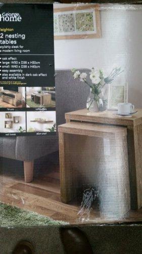 oak effect table nest £20 @ Asda INSTORE