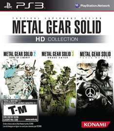 Metal Gear Solid HD Collection (PS3) £7.99 on PSN