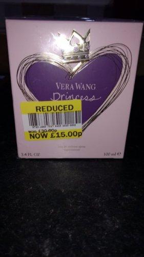 Vera Wang Princess EDT 100ml £15 @ Tesco - Knocknagoney, Belfast
