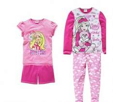 barbie 2 pack pyjamas reduced to £5.99 down from £14.99 at argos