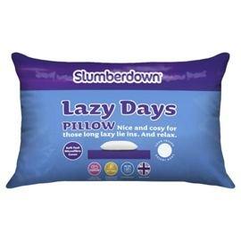 Slumberdown Lazy Days Single Rolled Pillow @ TESCO Direct was £5 now