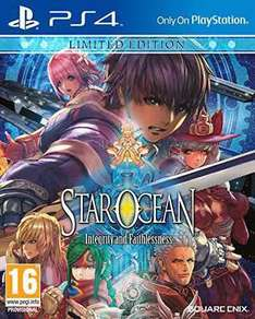 Star Ocean: Integrity and Faithlessness Limited Edition (PS4) £19.99 prime/+£1.99 non prime @ amazon