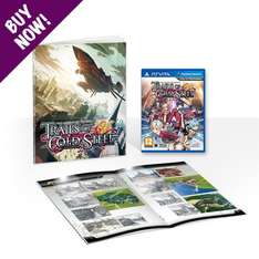 The Legend of Heroes: Trails of Cold Steel + Softcover Artbook (PS Vita) £21.99 - NISA