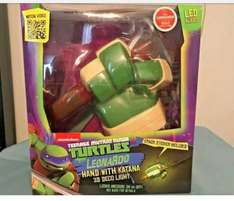 Teenage mutant ninja turtles 3d deco light (hand with weapon) £7.99 in store at tk maxx