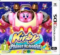 Kirby: Planet Robobot £21.59 using code [New] / Super Mario 3D Land £19.99 [Used] (3DS) & More @ Game