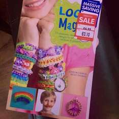 Loom Band Magic Book was £6.99 now only 10p at The Works