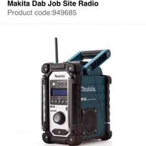 Makita DMR104 DAB Site Radio 230v/ 14.4-18v £102 @ Travis Perkins