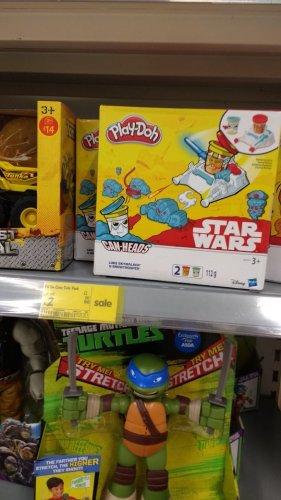 star wars play doh - £2 -  instore Asda St Helen's