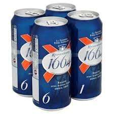 Kronenbourg 1664 12x440ml cansbest price for a pack this size  £9.99 in HB
