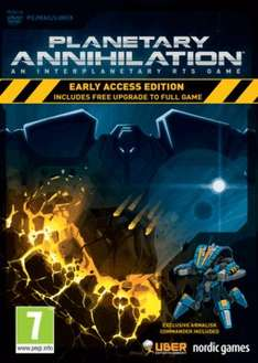 Planetary Annihilation (Steam) 99p Delivered @ GAME