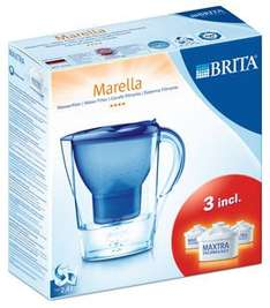 Brita Marella Water Filter Jug including 3 maxtra filters £11.99 @ Dunelm