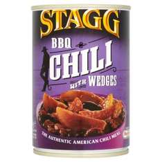 Stagg BBQ Chilli With Potato Wedges 380g: 25p at Morrisons