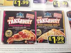 Chicago Town stuffed crust large pizzas £1.99 Farmfoods