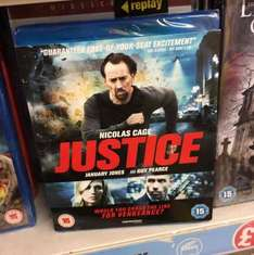 Justice Blu-ray. Brand New and Sealed in Poundland.... for £1!
