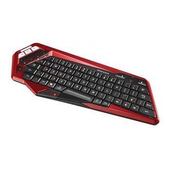 STRIKE M Red/Black Bluetooth Wireless Compact Gaming Keyboard £35.46 Scan