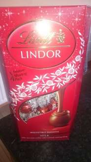 600g box lindor chocolates now £5 Tesco instore