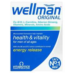 wellman and wellwoman at superdrug - £3.14