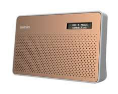 Goodmans Canvas DAB Radio copper @ Tesco (Free C&C) - £15